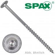 100 Spax Holzbauschrauben 6 x 80mm - Tellerkopf - TX30 - WIROX