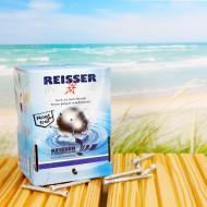 200 Reisser Terrassenschrauben 5x50mm - Edelstahl A4 - RDR Silber - Zylinderkopf mit SIT-Antrieb