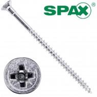 200 Spax(ABC) Spanplattenschrauben Senkkopf PZ galvanisch verzinkt 4,5 x 80