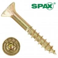 200 Spax(ABC) Spanplattenschrauben Senkkopf Torx gelb verzinkt 4,5x30
