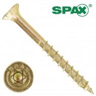 500 Spax(ABC) Spanplattenschrauben Senkkopf Torx gelb verzinkt 6,0 x 40