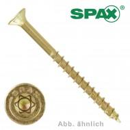 500 Spax(ABC) Spanplattenschrauben Senkkopf Torx gelb verzinkt 4,0 x 45