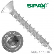 1000 Spax(ABC)Spanplattenschrauben Senkkopf Torx galv verzinkt 3x12