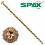 50 Spax(ABC) Holzbauschrauben 8,0 x 240 Senkkopf T-Star verz gelb passiviert A2L