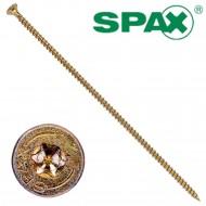 50 Spax(ABC) Holzbauschrauben 8,0 x 280 Senkkopf T-Star verz gelb passiviert A2L