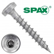 200 Spax(ABC) Universalschrauben A2 Halbrundkopf Torx 3,0 x 20