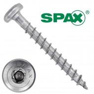 200 Spax(ABC) Universalschrauben A2 Halbrundkopf Torx 3,5 x 30