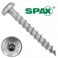 200 Spax(ABC) Universalschrauben A2 Halbrundkopf Torx 4,0 x 30
