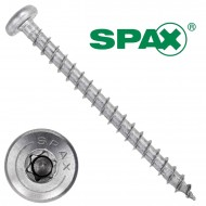 200 Spax(ABC) Universalschrauben A2 Halbrundkopf Torx 4,0 x 50