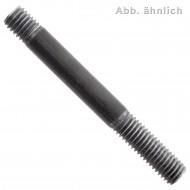 100 Stiftschrauben DIN 939 5.8 M10 x 20 mm