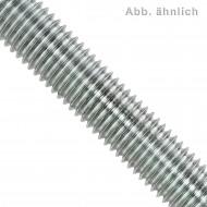 1 Gewindestange M20 x 1000 mm - Stahl 4.6, verzinkt - DIN 976