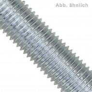 1 Gewindestange M8 x 1000 mm DIN 975 - Stahl 8.8 - verzinkt - Linksgewinde