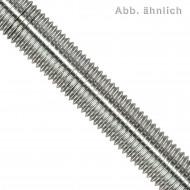 1 Gewindestange M20 x 1 m - Feingewinde, Steigung 1,5mm - verzinkt 4.6 - DIN 976