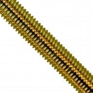 1 Gewindestange M8 x 1000 mm - Stahl 4.6 , gelb verzinkt  - DIN 976