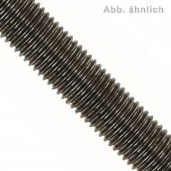 1 Gewindestange M10 x 1000 mm - Feingewinde, Steigung 1mm - Stahl 4.6 - DIN 976