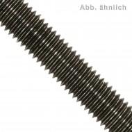 1 Gewindestange M14 x 1000 mm - Stahl 8.8 , brüniert - DIN 976