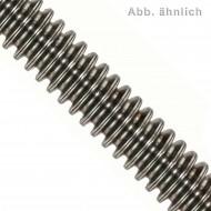 1 Gewindestange TR26 x 1000 mm - Trapezgewinde - Stahl 4.6 - DIN 976