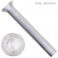 1000 Senknieten DIN 661 Aluminium 3 x 20 mm