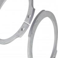 1000 Sicherungsringe 20x1,2 mm - für Wellen - DIN 471 - zinklamellenbeschichtet