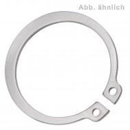 100 Sicherungsringe 6 x 0,7 mm - für Wellen - DIN 471 - Edelstahl 1.4122