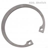 1 Sicherungsring 62 x 2 mm - für Bohrungen - DIN 472 - Edelstahl 1.4122