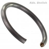 500 Runddraht-Sprengringe für 12 mm Bohrungen - DIN 7993 - Federstahl