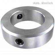 1 Stellring 25 mm - DIN 703 - schwere Reihe - Gewindestift nach DIN 914 - blank