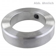 25 Stellringe DIN 705 Form A Stahl 4mm