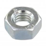1000 Sechskantmuttern - M5 - DIN 934 - galvanisch verzinkt - Festigkeitsklasse 6