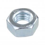 1000 Sechskantmuttern - M7 - DIN 934 - galvanisch verzinkt - Festigkeitsklasse 8