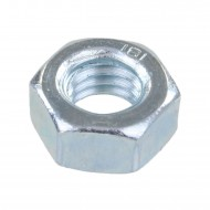 1000 Sechskantmuttern - M8 - DIN 934 - galvanisch verzinkt - Festigkeitsklasse 8
