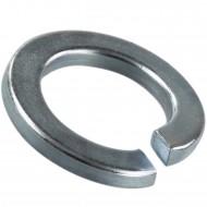 100 Federringe für M22 - Federstahl - galvanisch verzinkt - DIN 127 Form B