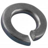 100 Federringe für M2,5 - Federstahl - galvanisch verzinkt - DIN 127 Form B