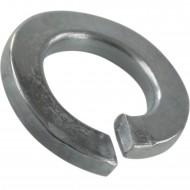 100 Federringe für M5 - Federstahl - galvanisch verzinkt - DIN 127 Form B