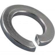 100 Federringe für M7 - Federstahl - galvanisch verzinkt - DIN 127 Form B