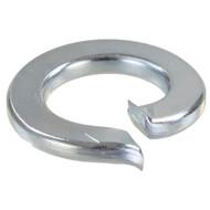 100 Federringe DIN 127 galvanisch verzinkt, Stahl, Form A für M10