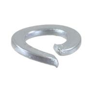100 Federringe DIN 127 galvanisch verzinkt, Stahl, Form A für M3,5
