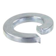 100 Federringe DIN 127 galvanisch verzinkt, Stahl, Form A für M5