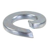100 Federringe DIN 127 galvanisch verzinkt, Stahl,  Form A für M6