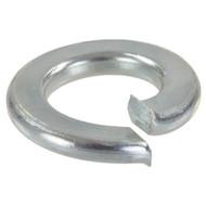 100 Federringe DIN 127 galvanisch verzinkt, Stahl, Form A für M8