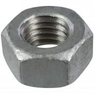 100 Sechskantmuttern M12 - SW19 - Stahl 8.0 feuerverzinkt - DIN 934
