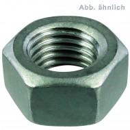 50 Sechskantmuttern M22 - SW32 - Stahl 8.0 feuerverzinkt - DIN 934