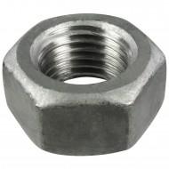 25 Sechskantmuttern M27 - SW41 - Stahl 8.0 feuerverzinkt - DIN 934
