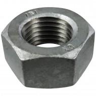 10 Sechskantmuttern M33 - SW50 - Stahl 8.0 feuerverzinkt - DIN 934