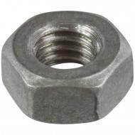 1000 Sechskantmuttern M6 - SW10 - Stahl 8.0 feuerverzinkt - DIN 934