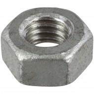 1000 Sechskantmuttern M8 - SW13 - Stahl 8.0 feuerverzinkt - DIN 934