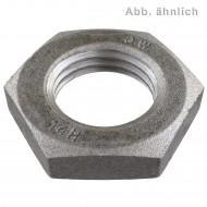 1 Sechskantmutter M42 - SW65 - niedrige Form - Stahl 14H - DIN 936