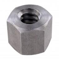 1 Sechskantmutter TR16 - Trapezgewinde - hohe Form - SW27 - Stahl