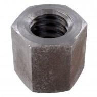 1 Sechskantmutter TR24 - Trapezgewinde - hohe Form - SW36 - Stahl
