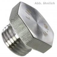 1 Verschlussschraube M16 x 1,5mm - DIN 7604 Form A - Edelstahl A4